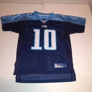 Vince Young Tennessee Titans Youth Large Jersey Re